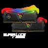 GeIL SUPER LUCE RGB SYNC AMD Edition 16GB (2x8GB) DDR4 3200 (PC4 25600) Intel XMP 2.0 GALS416GB3200C16ADC